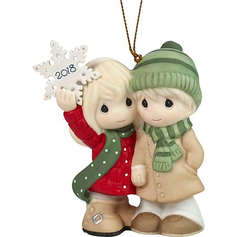 Precious Moments Couple's First Christmas 2018 Ornament