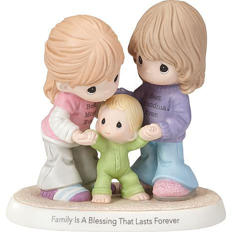 "Precious Moments ""Family Is a Blessing That Lasts Forever"" Figurine"