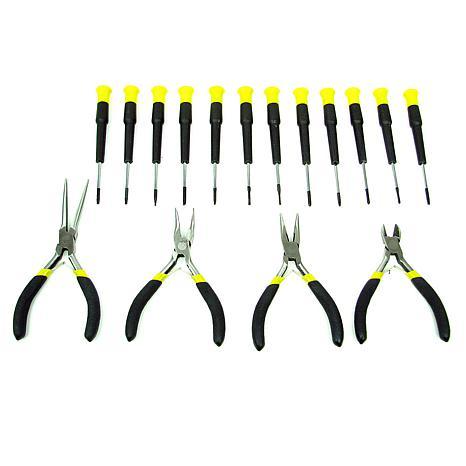 Precision Jewelers 16-piece Tool Set