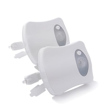 Professor Amos 2-pack LED Motion Sensor Toilet Lights
