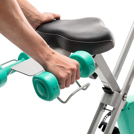 ProForm X-Bike Elite Folding Upright with iFit & 2 lb  Weight Set