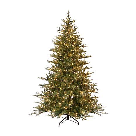 Puleo International 9' Pre-Lit Balsam Fir  Christmas Tree 1000 Lights