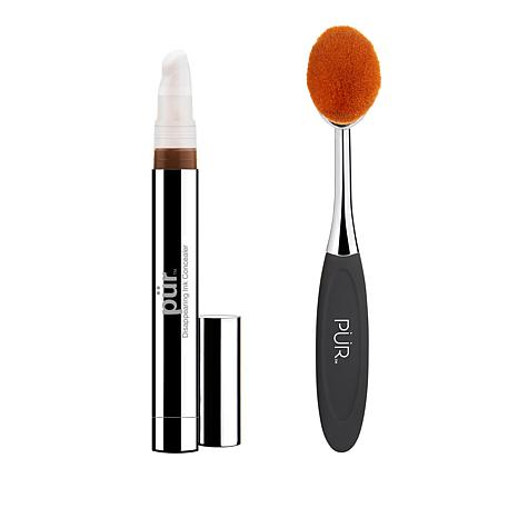 PUR Deep Disappearing Ink 4-in-1 Concealer with Brush