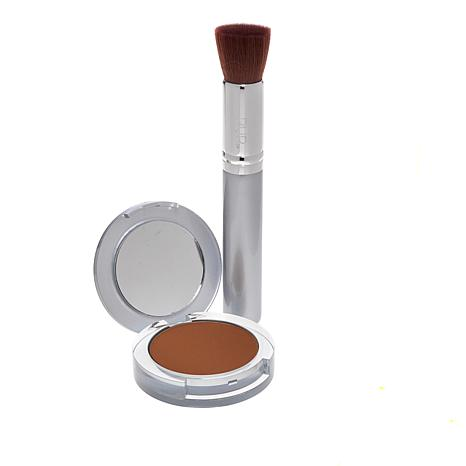 PUR Deeper 4-in-1 Pressed Mineral Powder Foundation with Brush