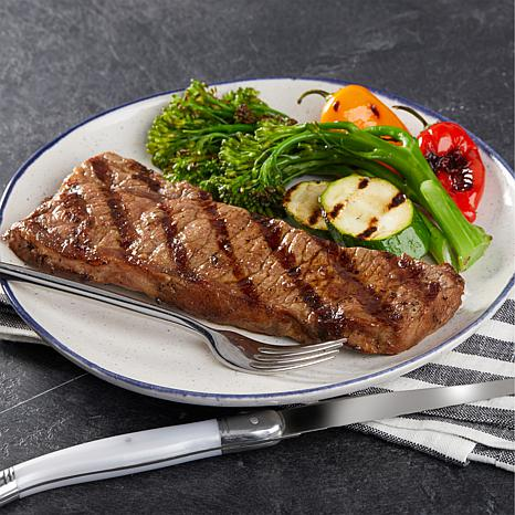 Pureland Meat Co. 8 oz. Black Angus NY Strip Steaks 8-count