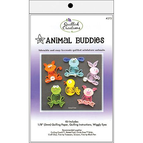 Quilled Creations Quilling Kit - Animal Buddies