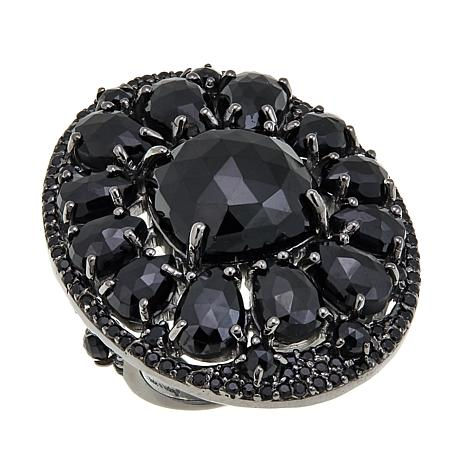 Rarities: Fine Jewelry with Carol Brodie 23.88ctw Black Spinel Ring
