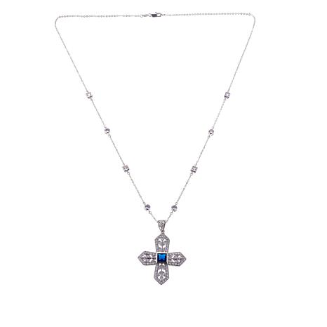 Real Collectibles by Adrienne®  Cross Pendant