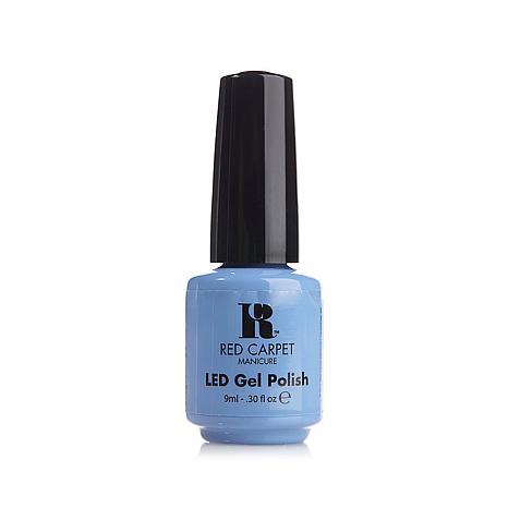 Red Carpet Manicure LED Gel Polish Baby Blues
