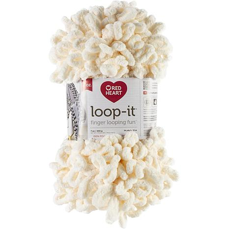 Red Heart Loop-It 200gr - Ice Ice Cream