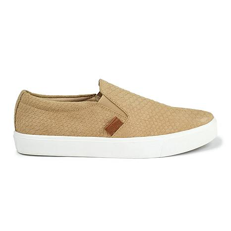 Revitalign Boardwalk Suede Textured Leather Shoe