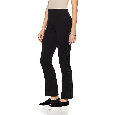 Rhonda Shear Mesh Inset Pull-On Pant