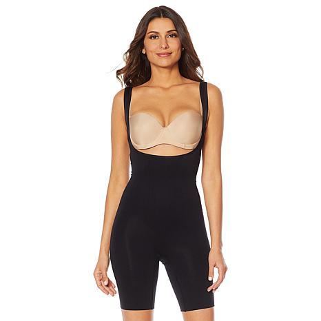 Rhonda Shear Wear Your Bra Mid-Thigh Bodysuit
