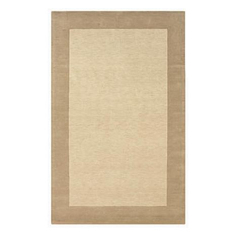 Rizzy Home Platoon Hand-Tufted Beige Rug - 3' x 5'