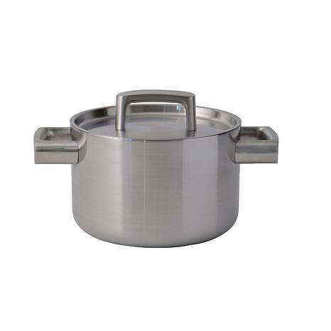 """RON 7"""" 18/10 5-Ply Stainless Steel Covered Casserole"""