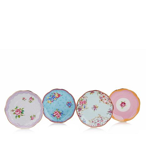 Royal Albert Candy Collection Mini Plate Set -Candy Mix