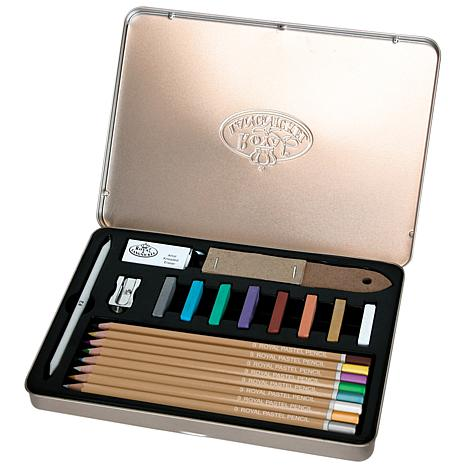 Royal Brush 20-piece Pastel Pencil Art Set