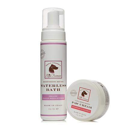 Royal Treatment Mousse with Paw Cream Waterless Bath Duo