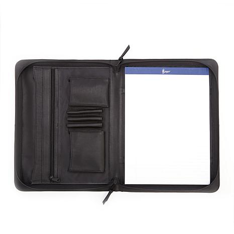 Royce Executive Zip Around Leather Padfolio 7978066 Hsn