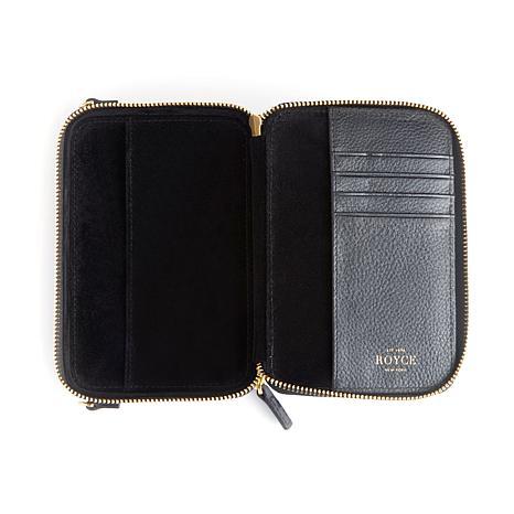Royce Leather Personalizable Mini Crossbody Bag