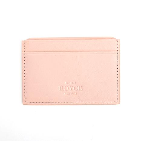 Royce Leather RFID Executive Card Case