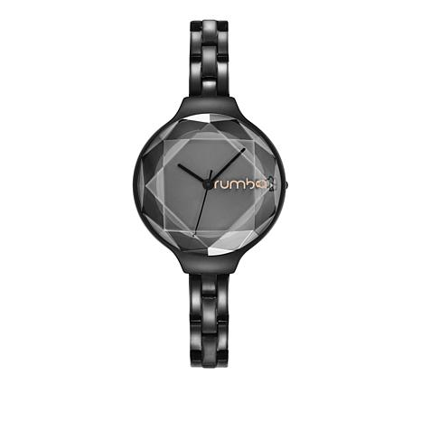 RumbaTime Orchard Gem Black Bracelet Watch