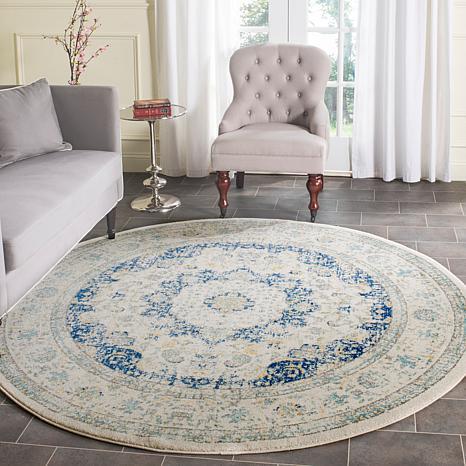 """safavieh evoke imogen '"""" x '"""" round rug    hsn, safavieh 8 ft round rugs, safavieh round area rugs, safavieh round outdoor rugs"""