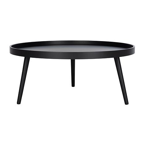 Safavieh Fritz Round Tray Top Coffee Table