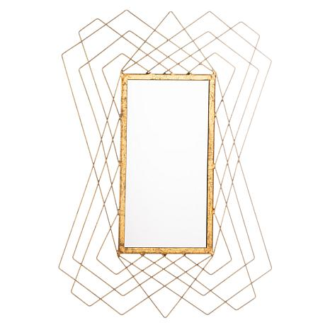 Entry way Mirror. How to decorate or style your entry way.