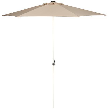 Safavieh Hurst 9' Easy Glide Market Umbrella