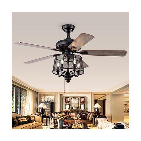 """Safavieh Jonie 52"""" Ceiling Light Fan"""