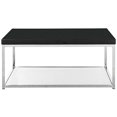 Safavieh Malone HighGloss Coffee Table Chrome Finish 8523994
