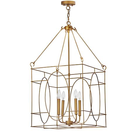 "Safavieh Margot 4-Light 18"" Adjustable Pendant"