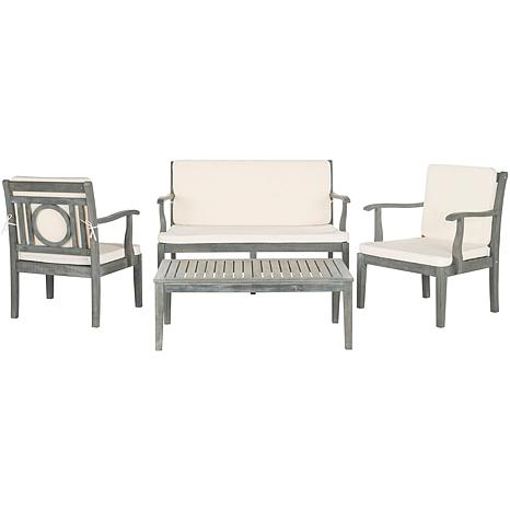 Safavieh Montclair 4-piece Outdoor Living Set