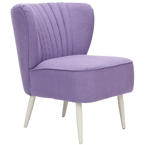 Morgan Accent Chair In Purple 6669698 Hsn