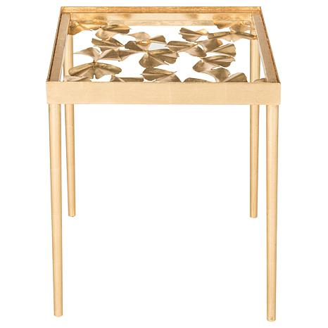 Safavieh Otto Ginko Leaf Side Table