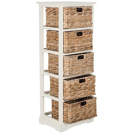 sc 1 st  HSN.com & Safavieh Vedette 5 Wicker Basket Storage Chest - 8328112 | HSN