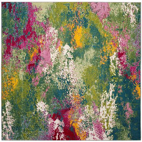 "Safavieh Watercolor Linny Rug - 6'7"" x 6'7"" Square"