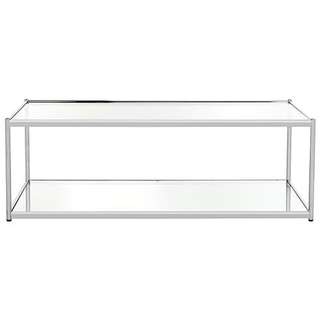 Safavieh Zola Coffee Table - Glass and Chrome
