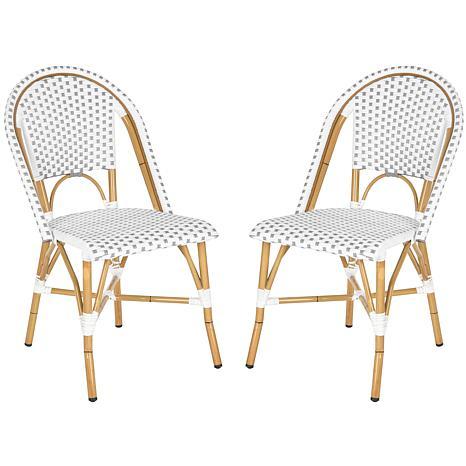 Salcha Indoor-Outdoor Stacking Side Chair