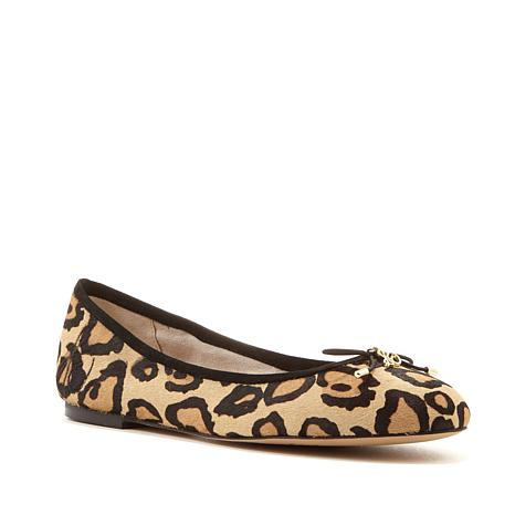 e52902de3e7559 Sam Edelman Felicia Haircalf Leopard-Print Ballet Flat - 8531603