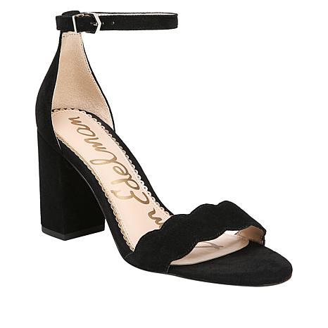4cde4e3dec7428 Sam Edelman Odila Ankle-Strap Sandal with Block Heel - 8919175