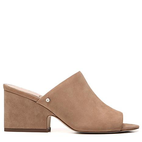 Sam Edelman Rheta Suede Dress Block Heel Mules 9JKfL