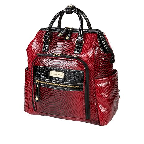 Samantha Brown Ombre Croco Backpack