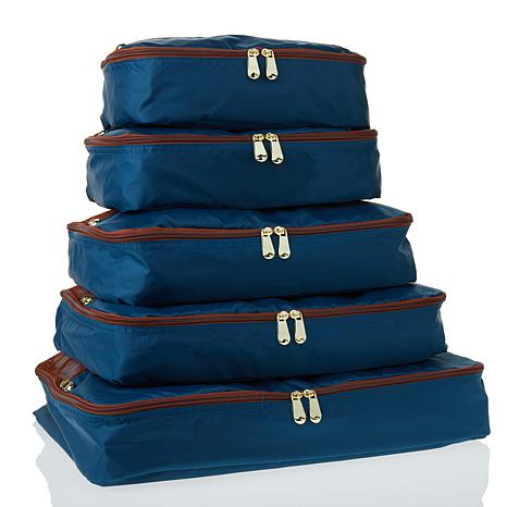 Samantha Brown Packing Cubes 5-piece Set