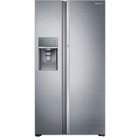 Samsung 22 Cu. Ft. Counter-Depth Side-by-Side Refrigerator with Sho...