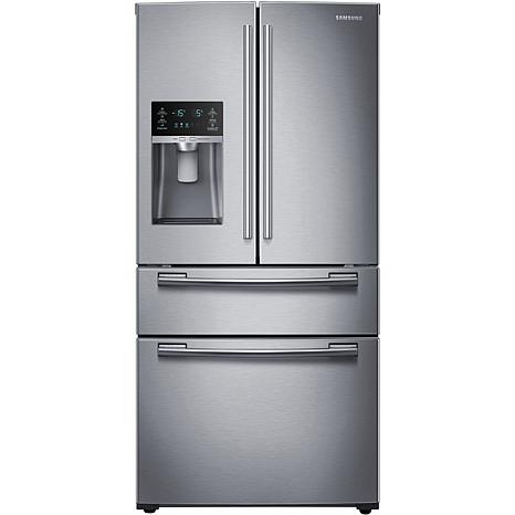Samsung 25 Cu. Ft. Counter-Height 4-Door Refrigerator with FlexZone...