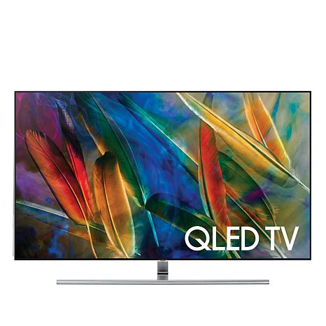 "Samsung 55"" Q7F QLED 4K Flat Ultra HD Smart TV with OneRemote"