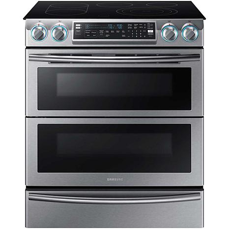 30 In Slide Smooth Top Electric Range With Wi Fi Stainless Steel