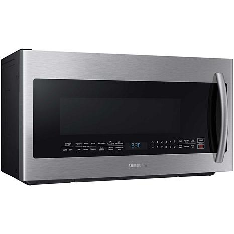 Samsung 900 Watt 2 1cf Grill Microwave Stainless